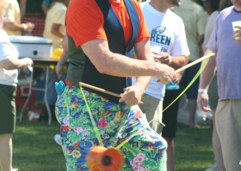 Our friend Randini the Remarkable Juggler will be back to entertain the crowd