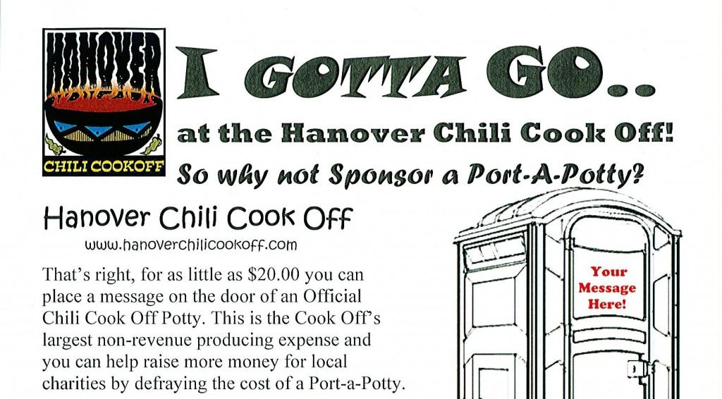 Potty Sponsor Shoutout!